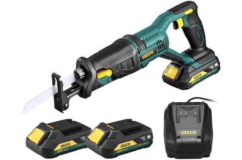 URCERI 20V Battery Cordless Reciprocating Saws