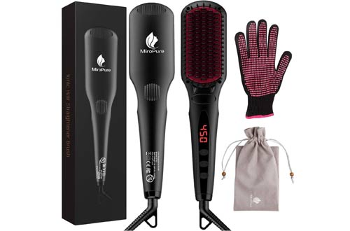 Frizz-Free Silky Electric Hair Straightening Brushes