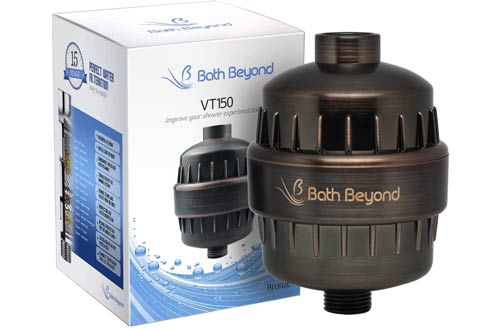 BathBeyond Shower Head Water Filters for Hard Water