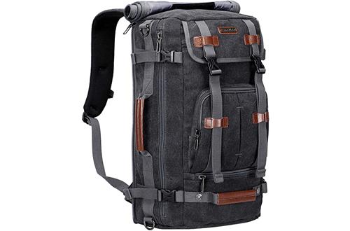WITZMAN Canvas Backpack - Large Vintage Travel Backpacks
