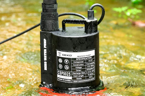 DEKOPRO 1/4hp Submersible Water Pumps