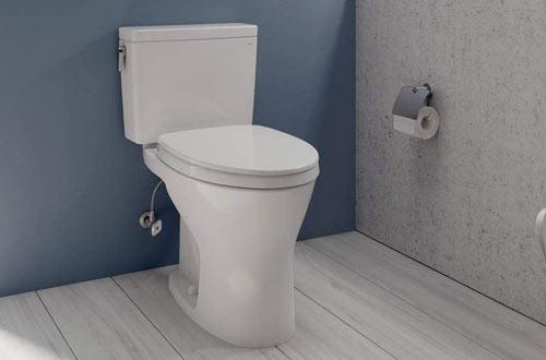 TOTO Drake Two-Piece Elongated Dual Flush Toilets