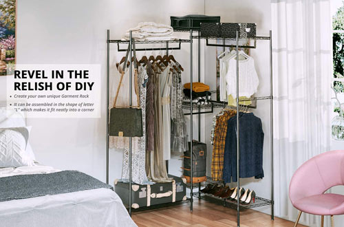 Portable Heavy Duty Clothes Racks