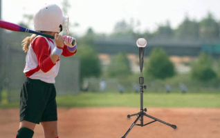 BaseGoal Portable Baseball Batting Tees