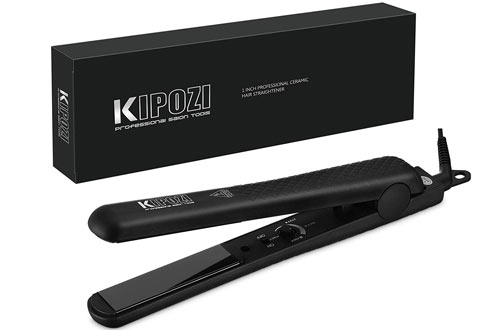 KIPOZI Pro Flat Irons for Straightening & Curling Hair