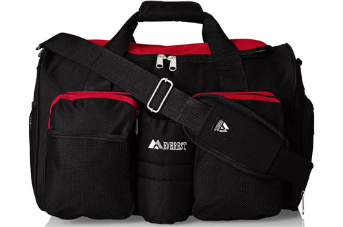 Everest unisex-adult Gym Bags with Wet Pocket