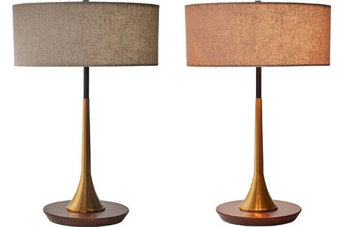 Mid-Century Modern Table Lamp With LED Light Bulb