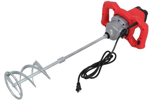 Zeny1600W Adjustable Handheld Electric Concrete Mortar Mixers