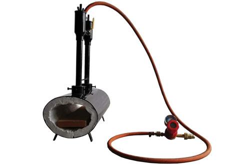 Double Blacksmith Gas Burner Propane Forges