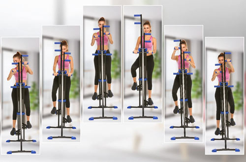 Hicient Vertical Stair Climber Machines for Home Gym