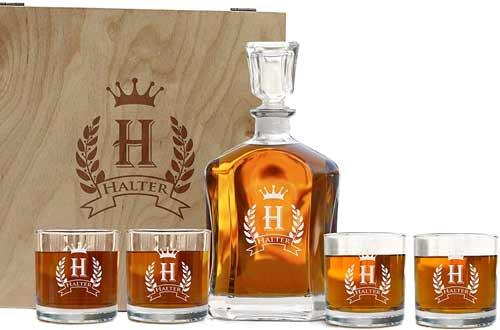 Krezy Case Store Whiskey Decanter Sets
